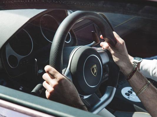 Car School Box - particolare Lamborghini